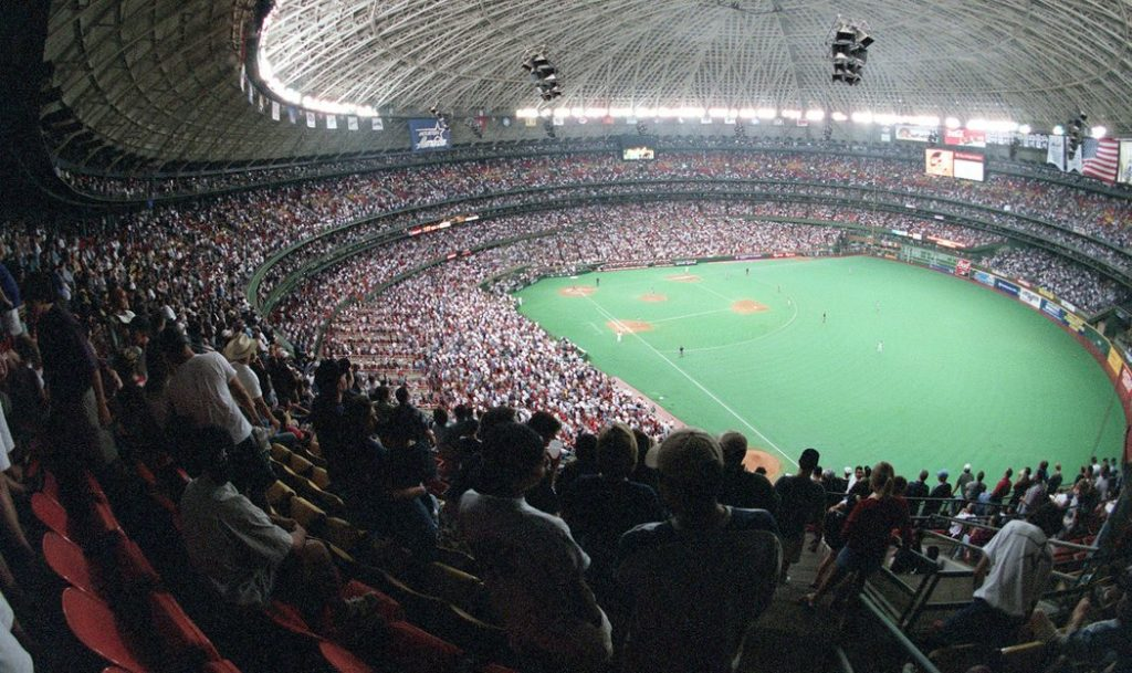 houston astrodome newgrass